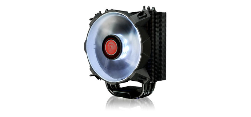 Raijintek presenta el disipador Leto, en color negro y con iluminación led