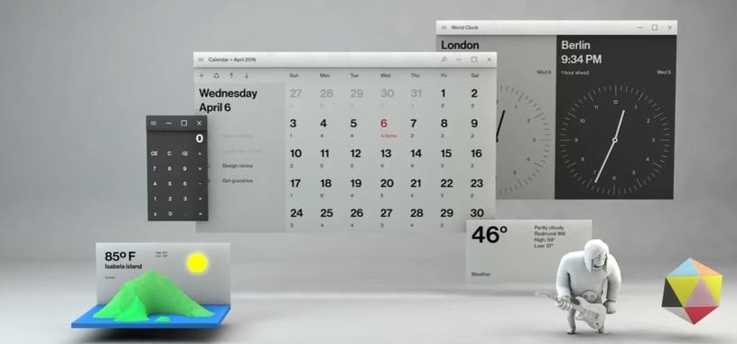 Microsoft introduce su lenguaje de diseño Fluent Design System para Windows 10