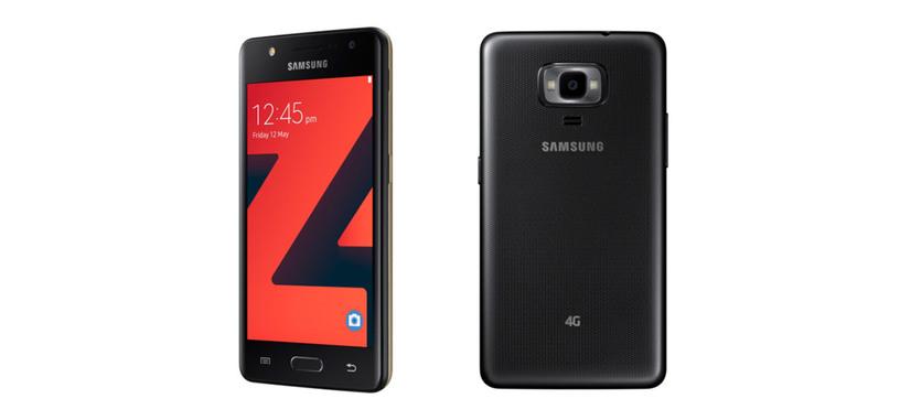 Samsung presenta el Z4, teléfono sencillo con Tizen 3.0