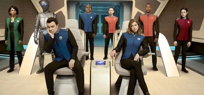 Fox renueva la parodia de 'Star Trek' de Seth MacFarlane para una segunda temporada