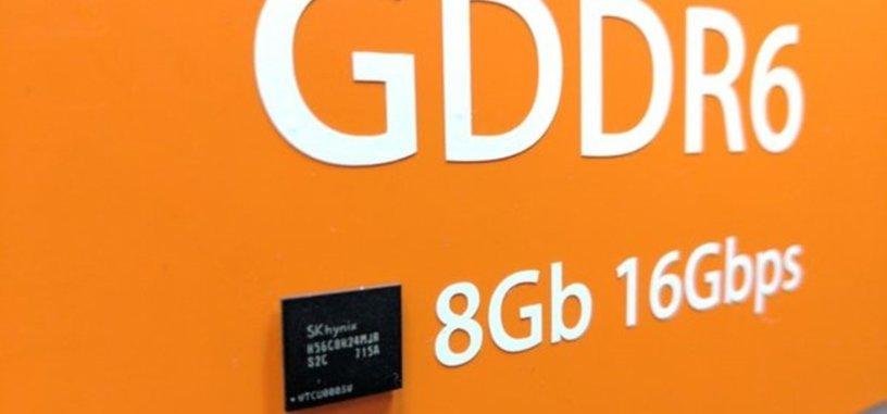 La memoria GDDR6 de SK Hynix llegará inicialmente a los 14 Gbps