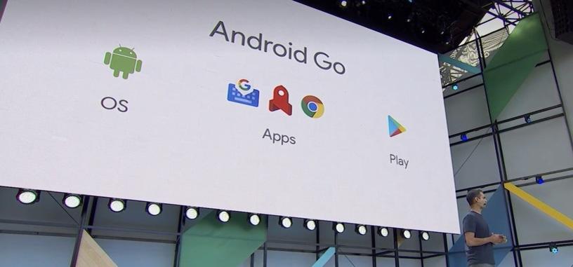 Android Go es una versión de Android para móviles de bajo coste