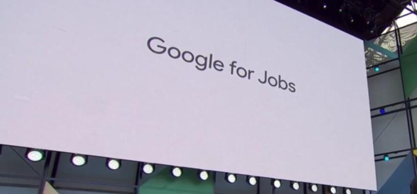 Google facilitará la búsqueda de empleo usando inteligencia artificial con 'Google for Jobs'