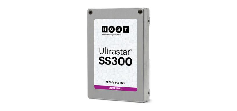 Western Digital presenta la línea Ultrastar SS300 de discos SSD