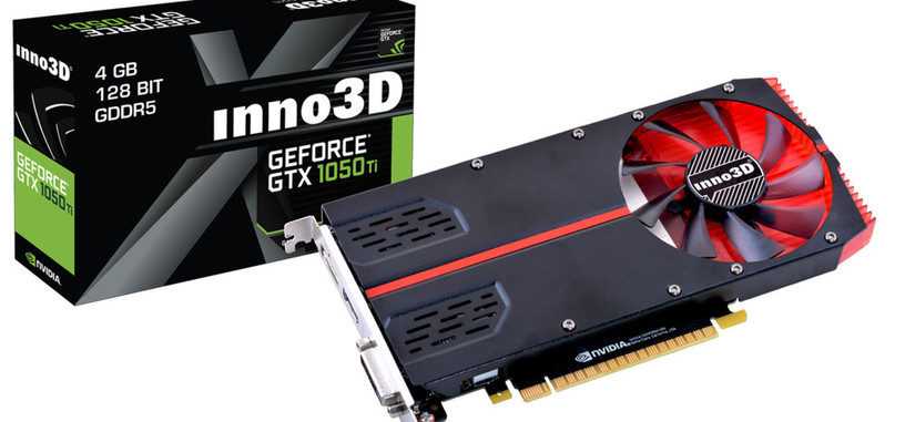 Inno3D presenta dos modelos de GeForce GTX 1050 y 1050 Ti de una sola ranura PCIe