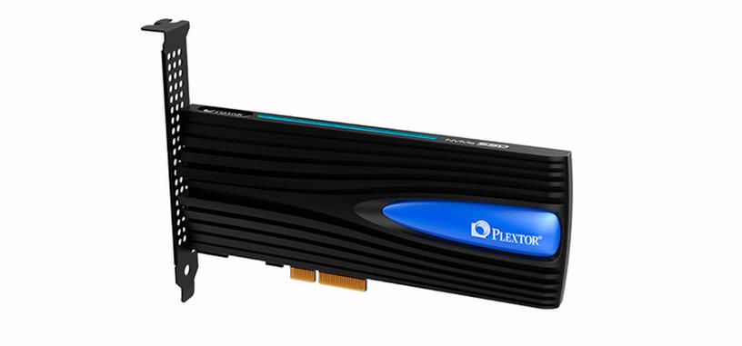 Plextor presenta la serie M8Se de SSD en modelos de M.2 y tarjeta PCIe con iluminación azul