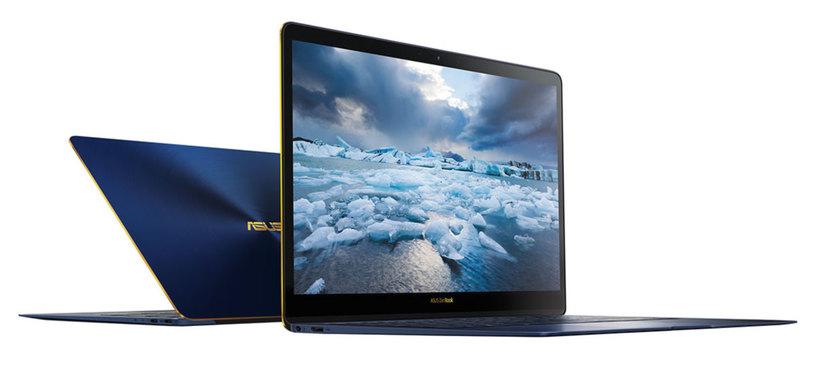 Asus anuncia el ZenBook 3 Deluxe, 'ultrabook' con puertos Thunderbolt 3 y gran pantalla