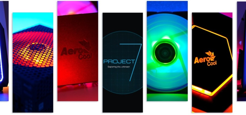 Aerocool muestra su gama Project 7 de componentes con iluminación RGB