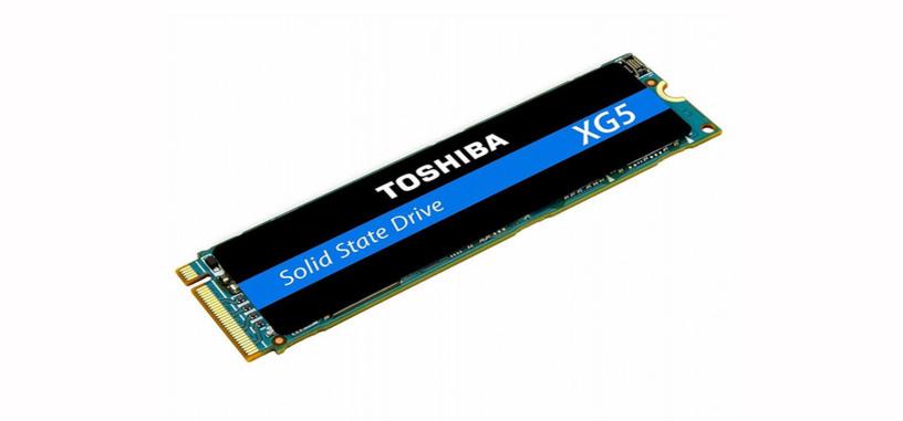 Toshiba presenta el XG5, nueva gama de SSD de hasta 1 TB de tipo M.2 PCIe NVMe