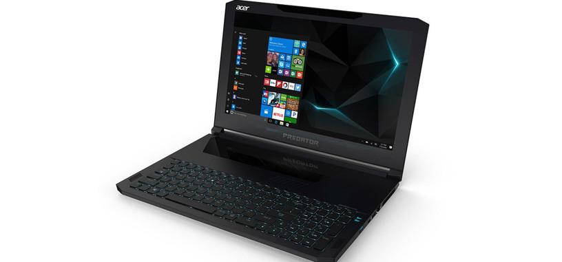 Acer presenta Predator Triton 700, un fino portátil para juegos con GTX 1080 de tipo Max-Q