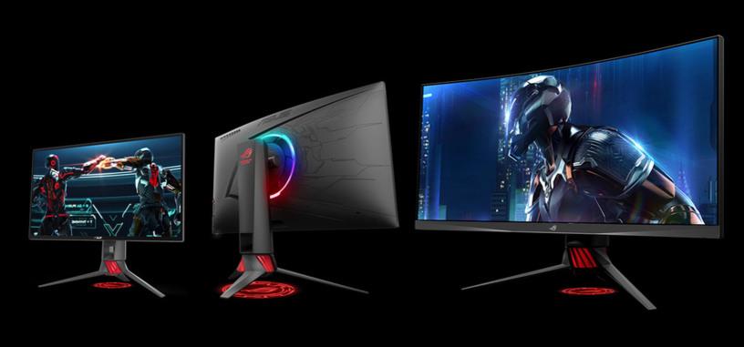 Asus presenta tres nuevos monitores de la serie ROG Strix