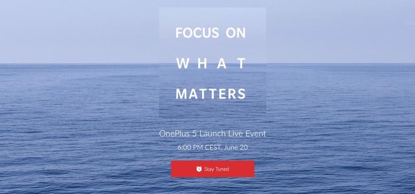 OnePlus presentará su próximo teléfono el 20 de junio
