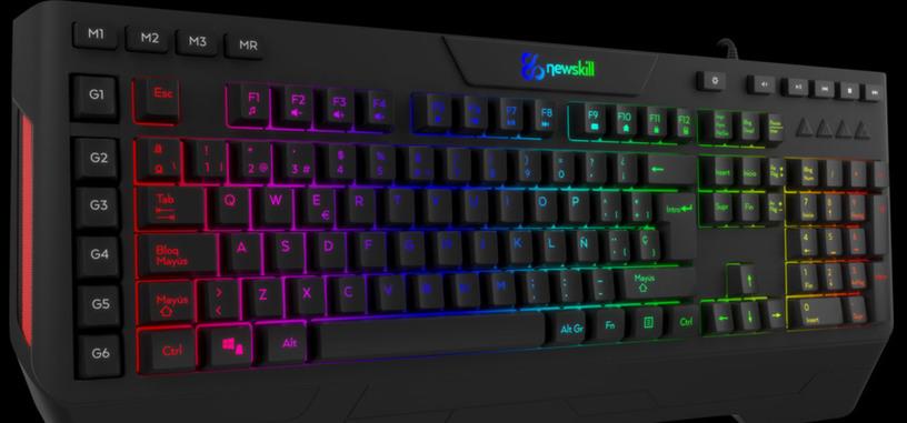 Newskill presenta el teclado Seiryu, teclado híbrido membrana de 40 euros