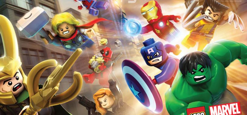 Los superhéroes de la Marvel llegarán a tu pantalla como videojuego de Lego