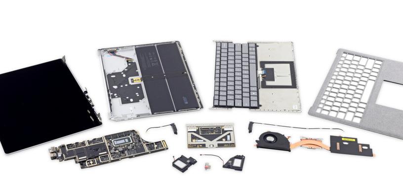 El nuevo portátil Surface de Microsoft es imposible de actualizar o reparar