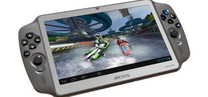 Archos Gamepad, aunque ya se podía comprar en Europa, estará disponible en febrero en EE.UU por 169 dólares