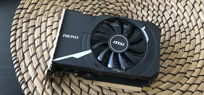 Análisis: GeForce GT 1030 Aero ITX 2G OC de MSI