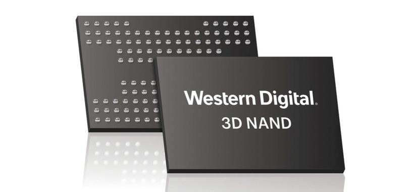 Western Digital presenta la memoria NAND 3D de 96 capas para chips de tipo TLC y QLC
