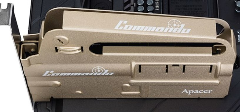 Apacer presenta el SSD más bélico, PT920 Commando