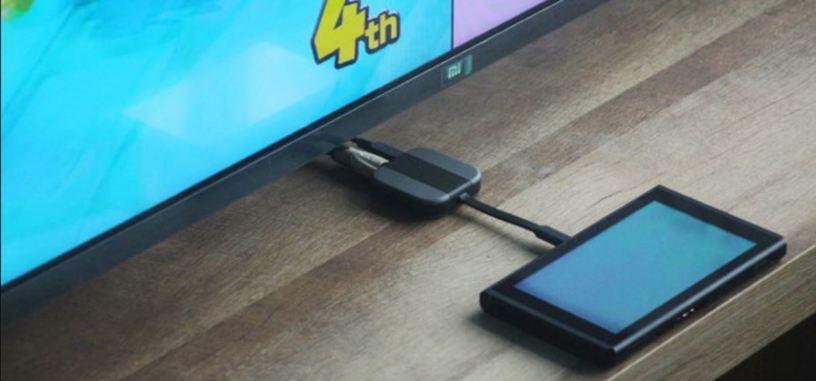Este adaptador para la Switch podrás llevarlo encima para jugar en cualquier televisor
