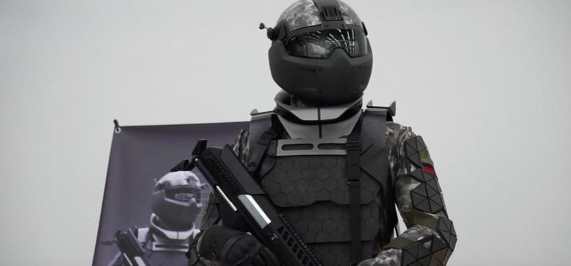 El ejército ruso muestra su exoesqueleto de combate