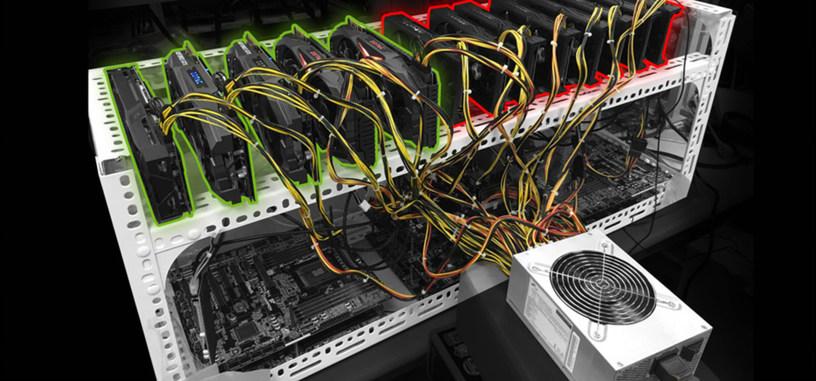 ASRock presenta su placa base para equipos de criptominería de hasta trece tarjetas gráficas