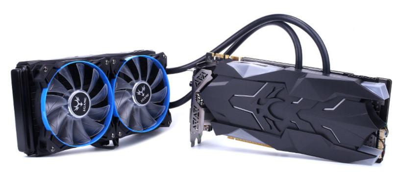 Colorful presenta la iGame GeForce GTX 1080 Ti Neptune W con refrigeración líquida