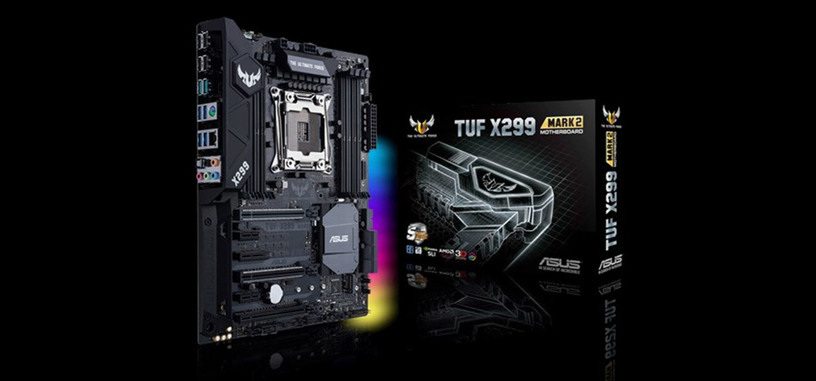 ASUS presenta la placa base TUF X299 Mark 2