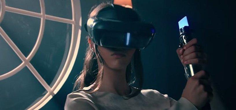 Lenovo crea una montura de realidad aumentada para juegos de Star Wars