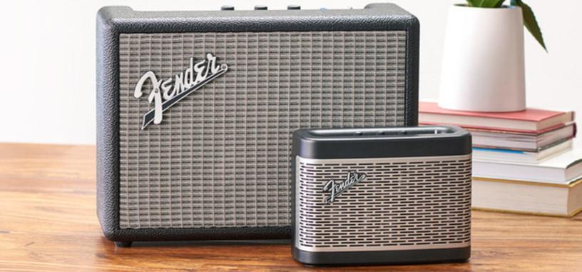 Fender presenta Monterrey y Newport, dos altavoces Bluetooth con aire de amplificadores