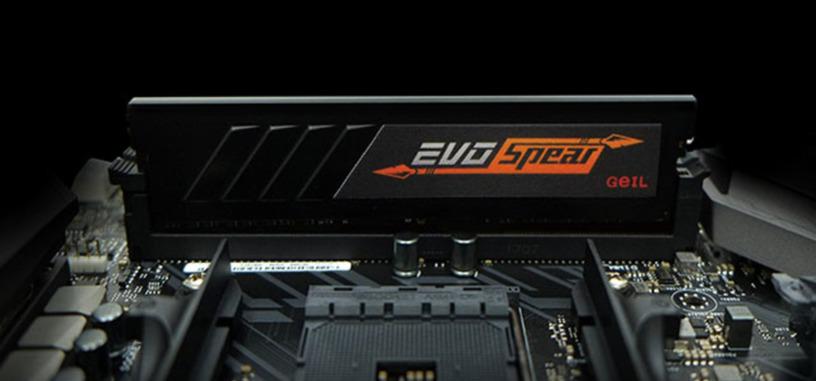 GeIL anuncia la edición AMD de la serie EVO Spear de memoria DDR4
