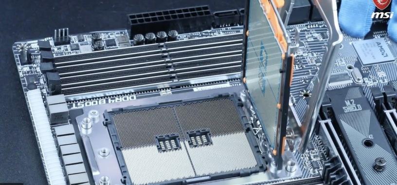 Los Ryzen Threadripper 3000 no serían compatibles con las placas base X399