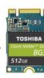Toshiba presenta su pequeño SSD de 512 GB, de bajo consumo y tipo M.2 PCIe