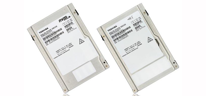 Toshiba presenta nuevas SSD tipo SAS y NVMe de hasta 31 TB