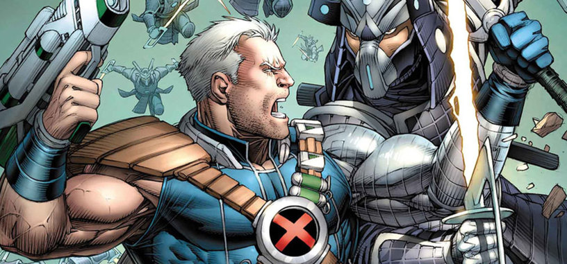 Ryan Reynolds presenta el aspecto de Josh Brolin como Cable en 'Deadpool 2'