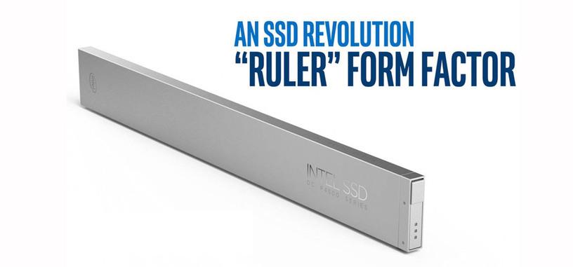 Intel crea un nuevo formato de SSD para alcanzar los 1000 TB en el menor espacio posible