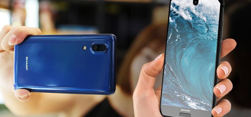 Sharp presenta Aquos S2, otro teléfono que reduce los marcos de pantalla al mínimo