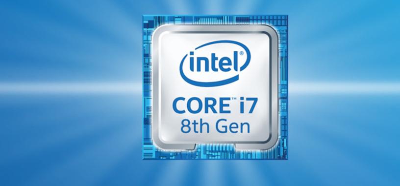 Intel da comienzo a la 8.ª generación de procesadores Core empezando por los de portátil