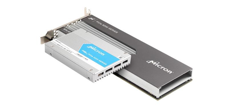 Micron presenta la serie 9200 de SSD de hasta 5.5 GB/s y altísima durabilidad