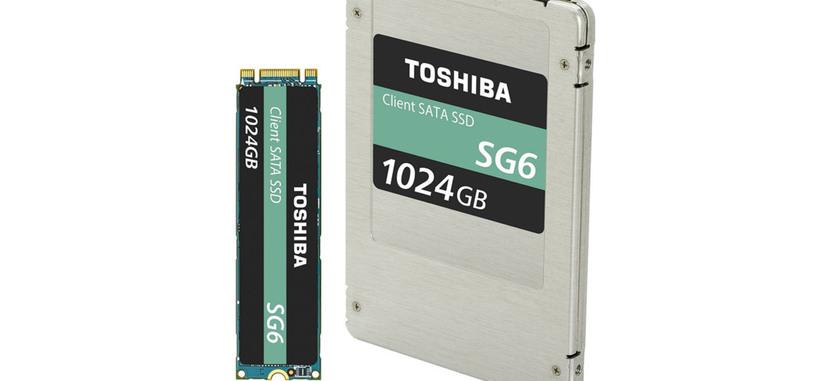 Toshiba presenta la serie SG6 de SSD con memoria NAND TLC para el sector consumo