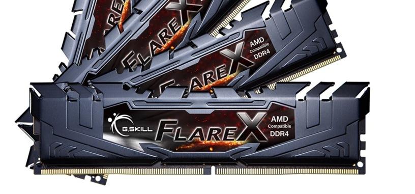 G.Skill anuncia sus módulos Flare X para procesadores Threadripper de hasta 3600 MHz