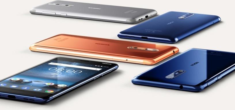 HMD presenta Nokia 8, vuelve la óptica Carl Zeiss a los teléfonos de gama alta