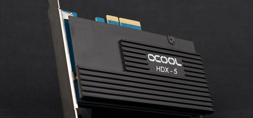 Alphacool presenta una nueva refrigeración pasiva para dos SSD sobre PCIe