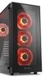Sharkoon presenta la caja TG5, con cristal y cuatro ventiladores con iluminación de serie