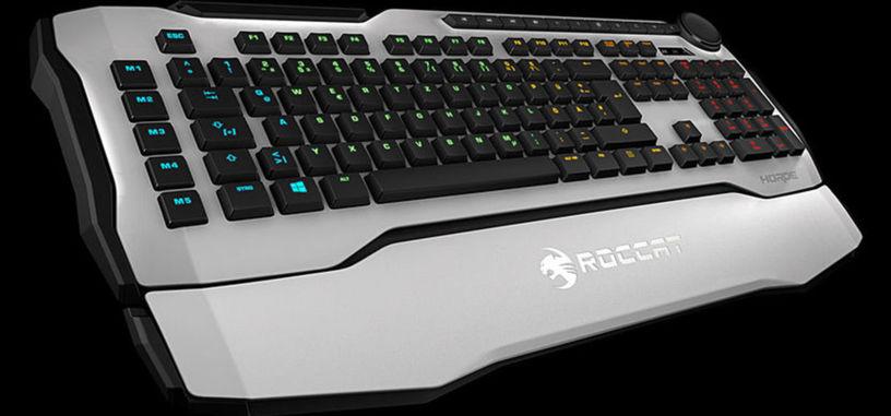 Roccat presenta Horde AIMO, teclado de membrana con iluminación RGB