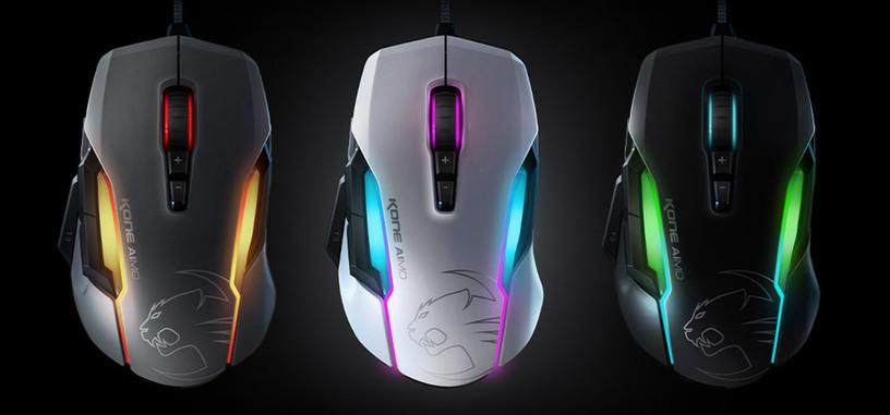 Roccat presenta el ratón Kone AIMO