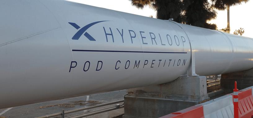 El vagón ganador del concurso de Hyperloop alcanza los 324 km/h