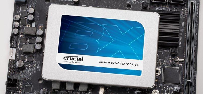 Crucial presenta la serie BX300 de SSD con memoria NAND 3D de tipo MLC