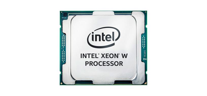 Intel anuncia los procesadores escalables Xeon W para estaciones de trabajo