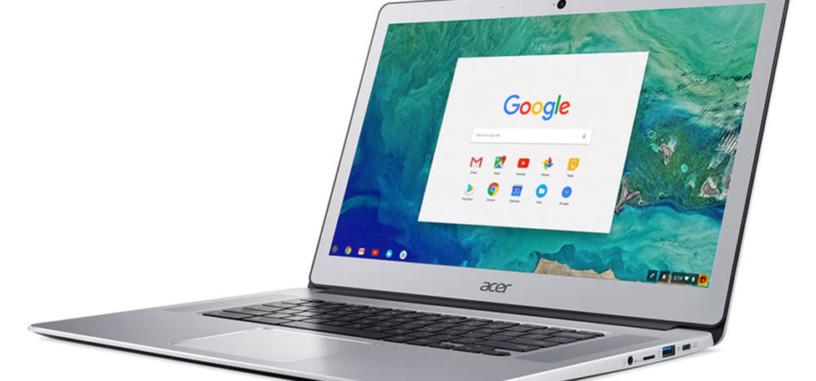 Acer presenta la nueva versión de su Chromebook 15